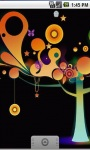 Glowing Tree Live Wallpaper screenshot 1/5