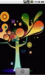 Glowing Tree Live Wallpaper screenshot 3/5