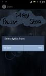 Rain Music Player screenshot 2/6