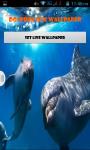 Dolphin Live Wallpaper Best screenshot 1/5