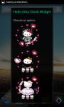 Hello Kitty Android Clock Widget screenshot 4/4