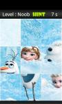 Frozen Jigsaw Puzzle 2 screenshot 2/4