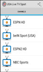 USA Live TV Sport screenshot 1/3