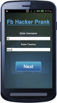 Password hacker Fb prank screenshot 2/6