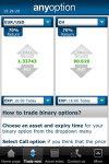 Binary Options Trading - anyoption screenshot 1/1