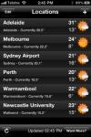 Pocket Weather AU Lite screenshot 1/1