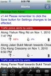 TrafficAlert screenshot 1/1
