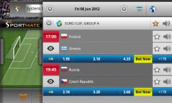SportMate Euro 2012 Interactive screenshot 3/3