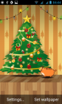Indie Cats Christmas Live Wallpapers screenshot 1/3