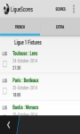 LigueScores screenshot 1/3