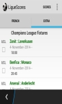 LigueScores screenshot 2/3