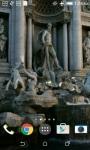 Trevi Fountain Live Wallpaper screenshot 2/4