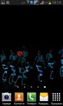 Dancing aliens galaxy LiveWP screenshot 5/6