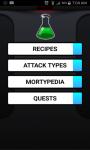 Recipes for Pocket Mortys screenshot 1/1
