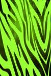 Green Zebra Print Live Wallpaper screenshot 2/2