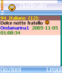 ChatReader Italian Version screenshot 1/1