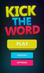Kick the Word screenshot 1/6