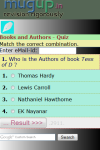 Books and Authors Quiz screenshot 2/3