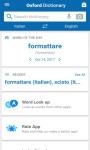 Oxford-Paravia Italian Dictionary screenshot 3/6