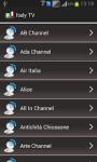 Italy TV Channels Online screenshot 2/2