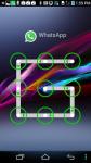 Pattern screen Locker For Whatsapp screenshot 1/4