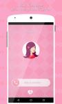 Pink Caller Screen Dialer screenshot 4/6