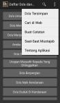 Kumpulan Doa Doa dan Hadis plus Note dan WebView screenshot 2/4