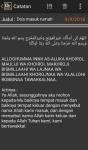 Kumpulan Doa Doa dan Hadis plus Note dan WebView screenshot 4/4