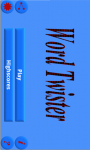 Word Twister screenshot 1/3