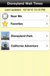 Disneyland Wait Times Free screenshot 1/1