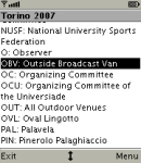 Universiade Acronyms screenshot 1/1