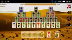 Piramidroid Pyramid Card game screenshot 1/4