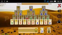 Piramidroid Pyramid Card game screenshot 2/4