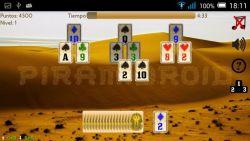 Piramidroid Pyramid Card game screenshot 3/4