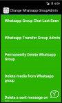 Change Whatsapp Group Admin screenshot 3/3