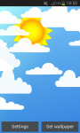 Sun and Clouds Live Wallpaper screenshot 2/4