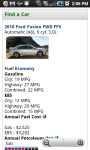 MPG Fuel Economy screenshot 3/4
