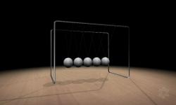 3D Newtons Cradle screenshot 1/4