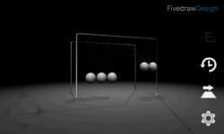 3D Newtons Cradle screenshot 2/4