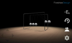 3D Newtons Cradle screenshot 3/4