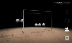 3D Newtons Cradle screenshot 4/4