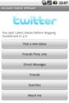 SocialDroid screenshot 1/1