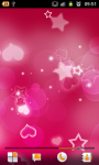 Red Hearts Live Wallpaper free screenshot 3/6