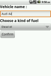 Fuel conso screenshot 6/6
