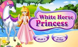 White Horse Princess Dress Up screenshot 1/3