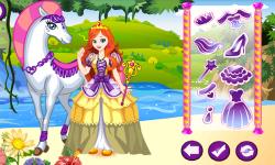 White Horse Princess Dress Up screenshot 2/3