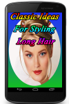 Classic Ideas For Styling Long Hair screenshot 1/3