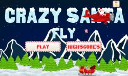 Crazy Santa Fly screenshot 1/5