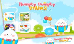 Humpty Dumpty Baby Drums - Kids Drum Set Game screenshot 1/6