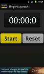 Sophisticated Simple Stopwatch screenshot 1/1